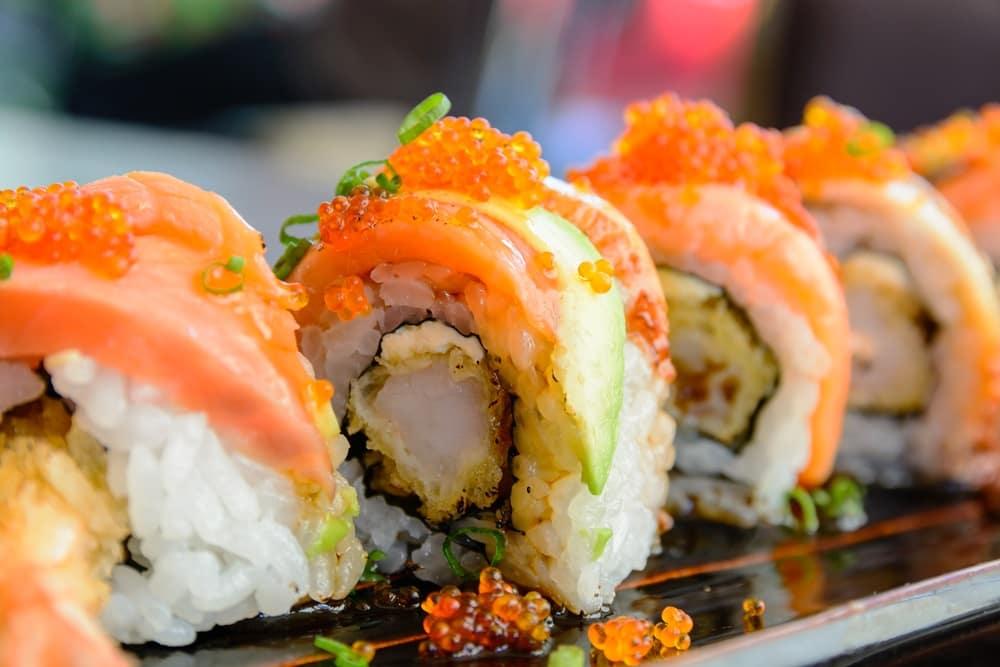 Sushi Rolls near Dallas, TX