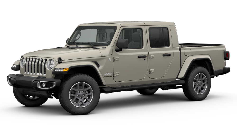 2020 Jeep Gladiator Gobi Clear Coat