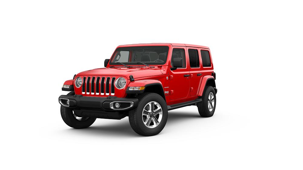 Jeep Wrangler Firecracker Red