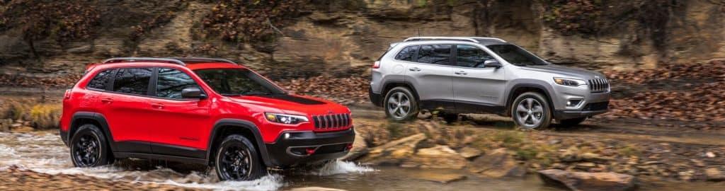 Jeep Cherokee Dimensions