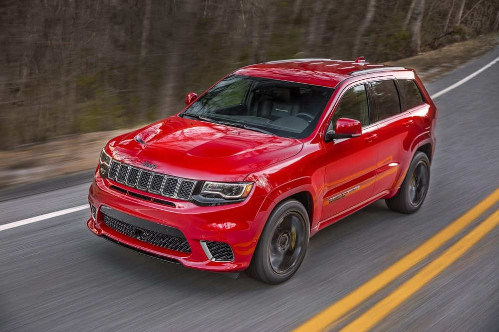 Jeep Grand Cherokee Performance