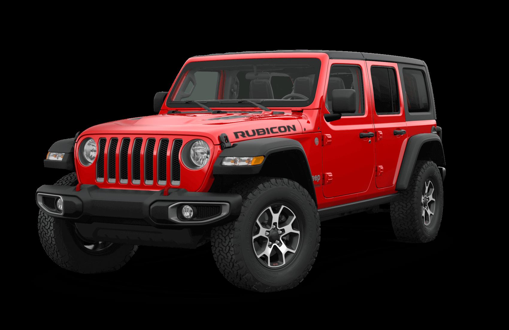 2021 Jeep Wrangler Rubicon Red Dallas CDJR
