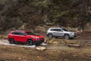 Jeep Compass vs Cherokee