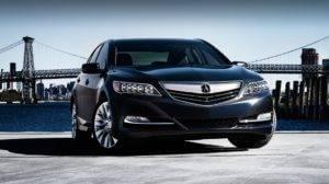 2017 Acura RLX black