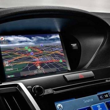 2017 Acura TLX navigation