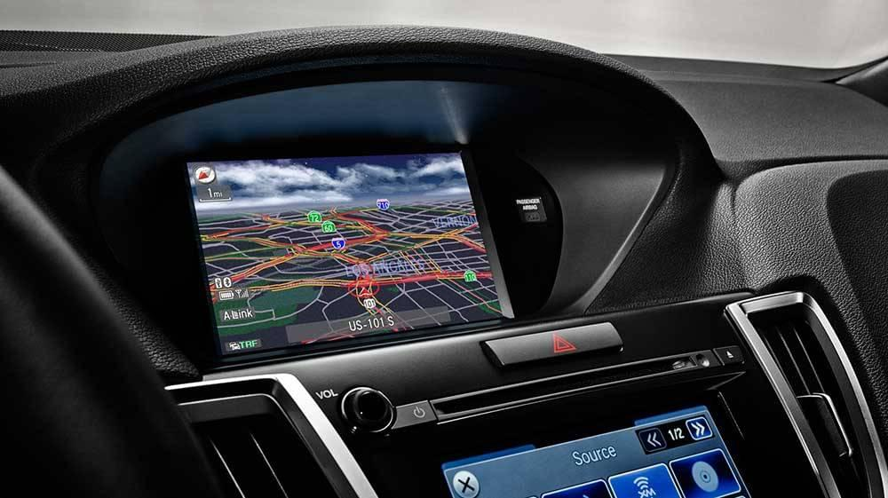 2017 Acura TLX navigation