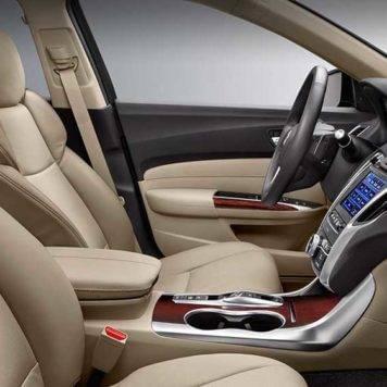 2017 Acura TLX seats