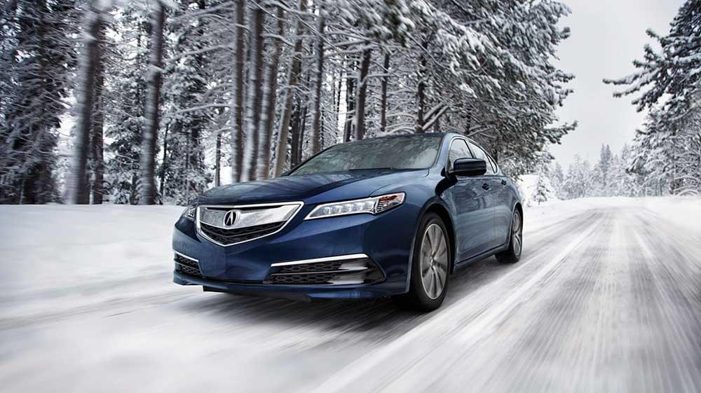 2019 Blue Pearl Acura TLX