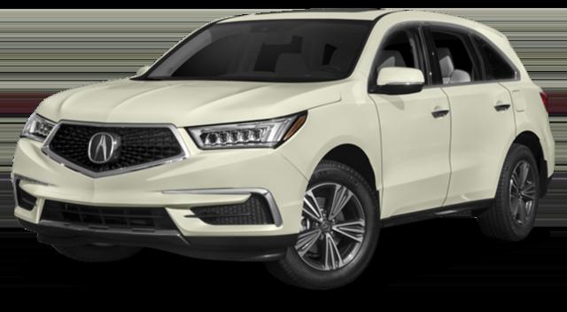 2017 Acura MDX White