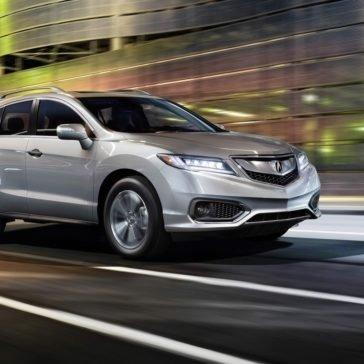 2018 Acura RDX Driving