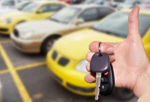Used Car Dealer Lot