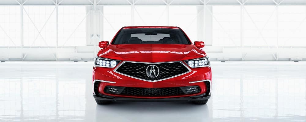 2018 Acura RLX Red