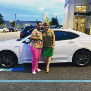 Congrats to Kellye on Her New Acura from Elite Acura