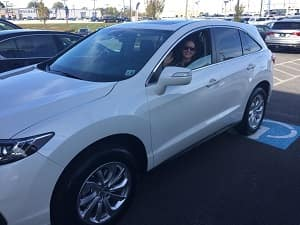 Congrats Jess on Your new Acura from Elite Acura