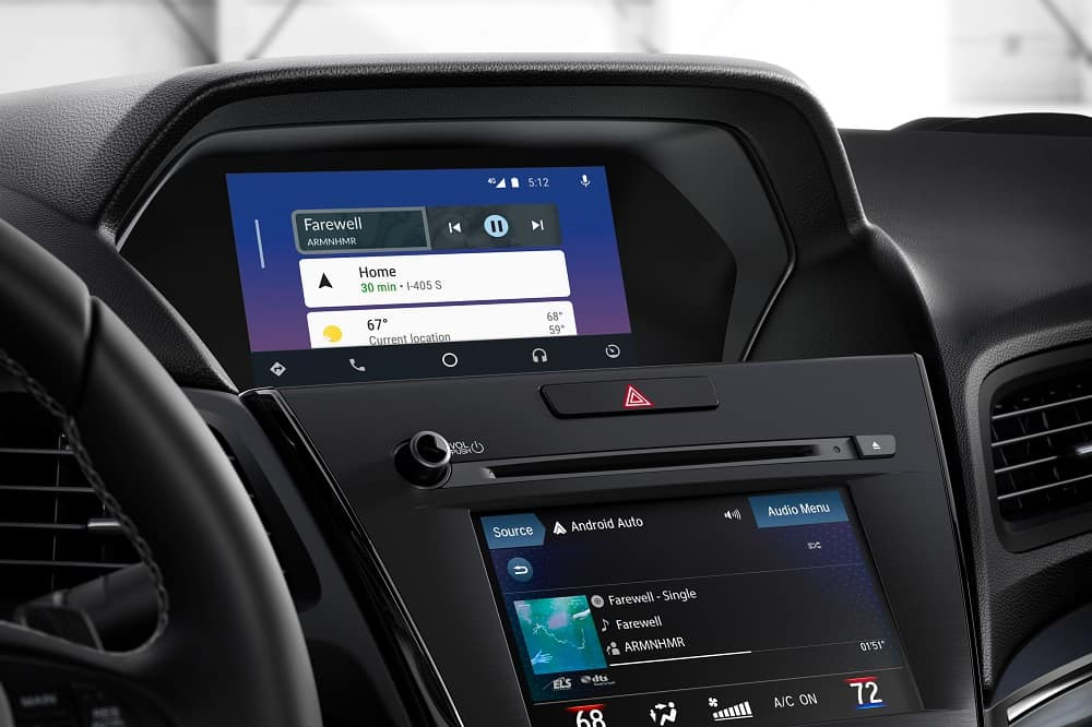 Acura Interior Dashboard