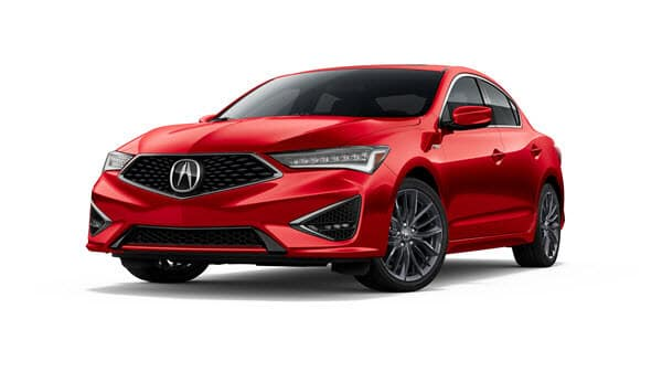 2019 Acura ILX in Performance Red Pearl