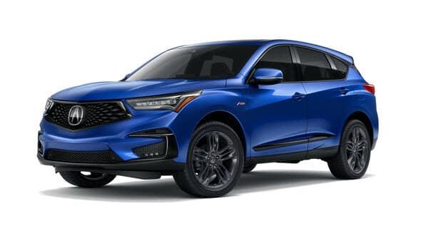 2019 Acura RDX in Apex Blue Pearl