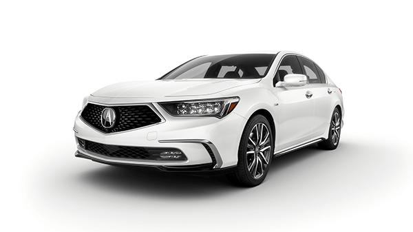 2019 Acura RLX Platinum White