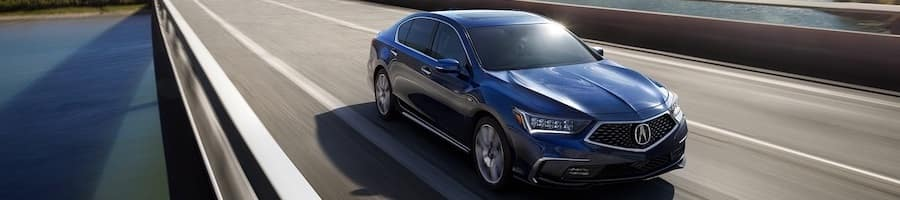 2019 Acura RLX Blue