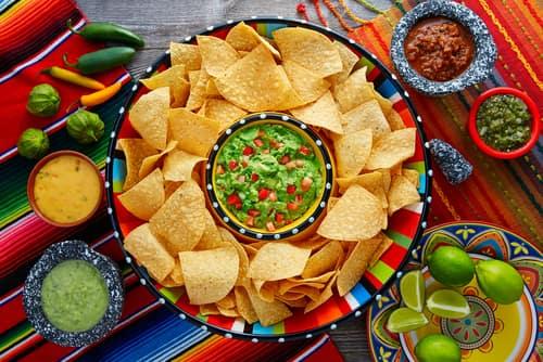 mexican restaurant nachos