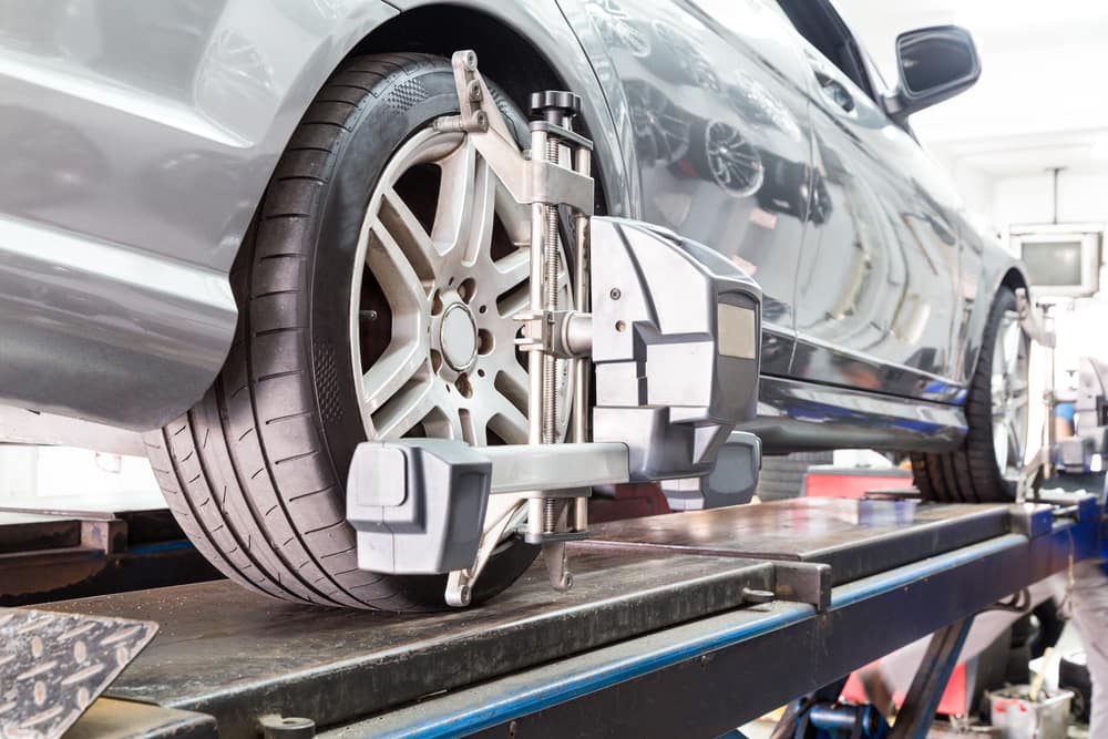 schedule a wheel alignment