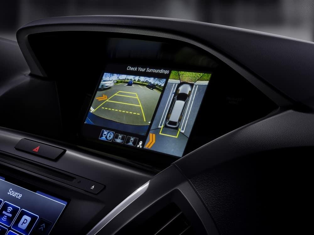 Acura MDX Multi-View Rear Camera