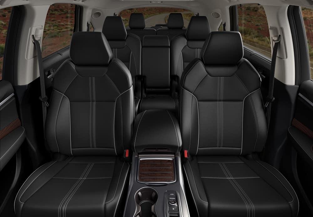 2019 Acura MDX Interior Cab Space