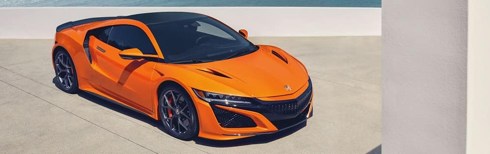 2019 Acura NSX Thermal Orange