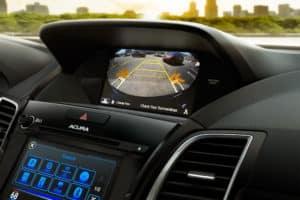 Acura RDX Interior Back Up Camera Technology