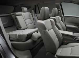 Acura RDX Back Seat Interior Dimension