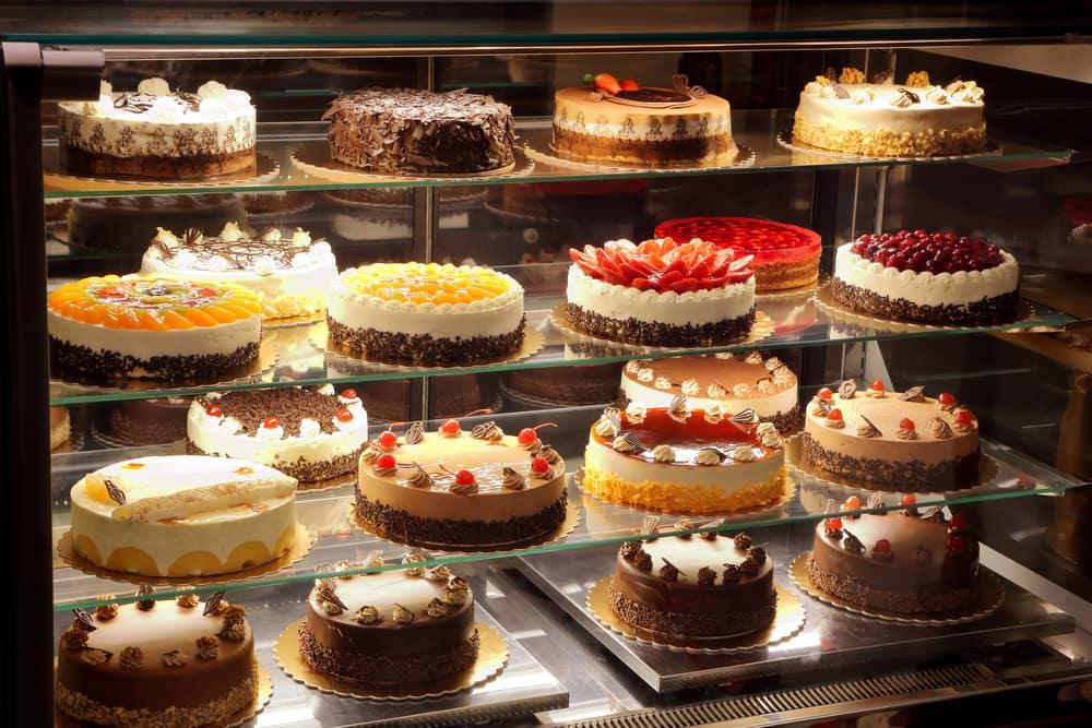 Bakery Cake Case