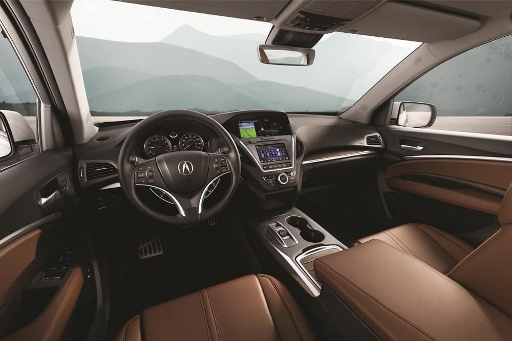 Acura MDX Sport Hybrid Interior Features
