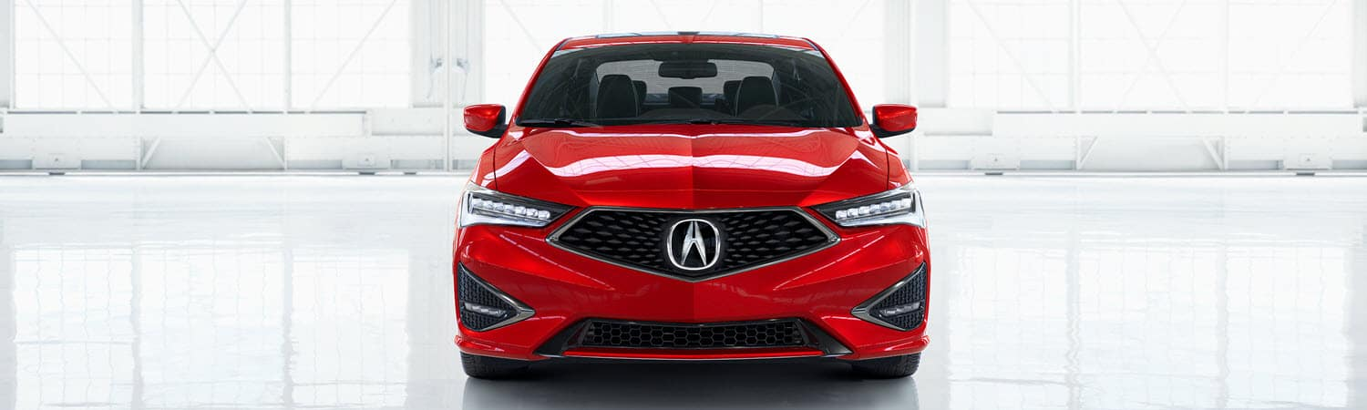 Acura ILX A-Spec in Red