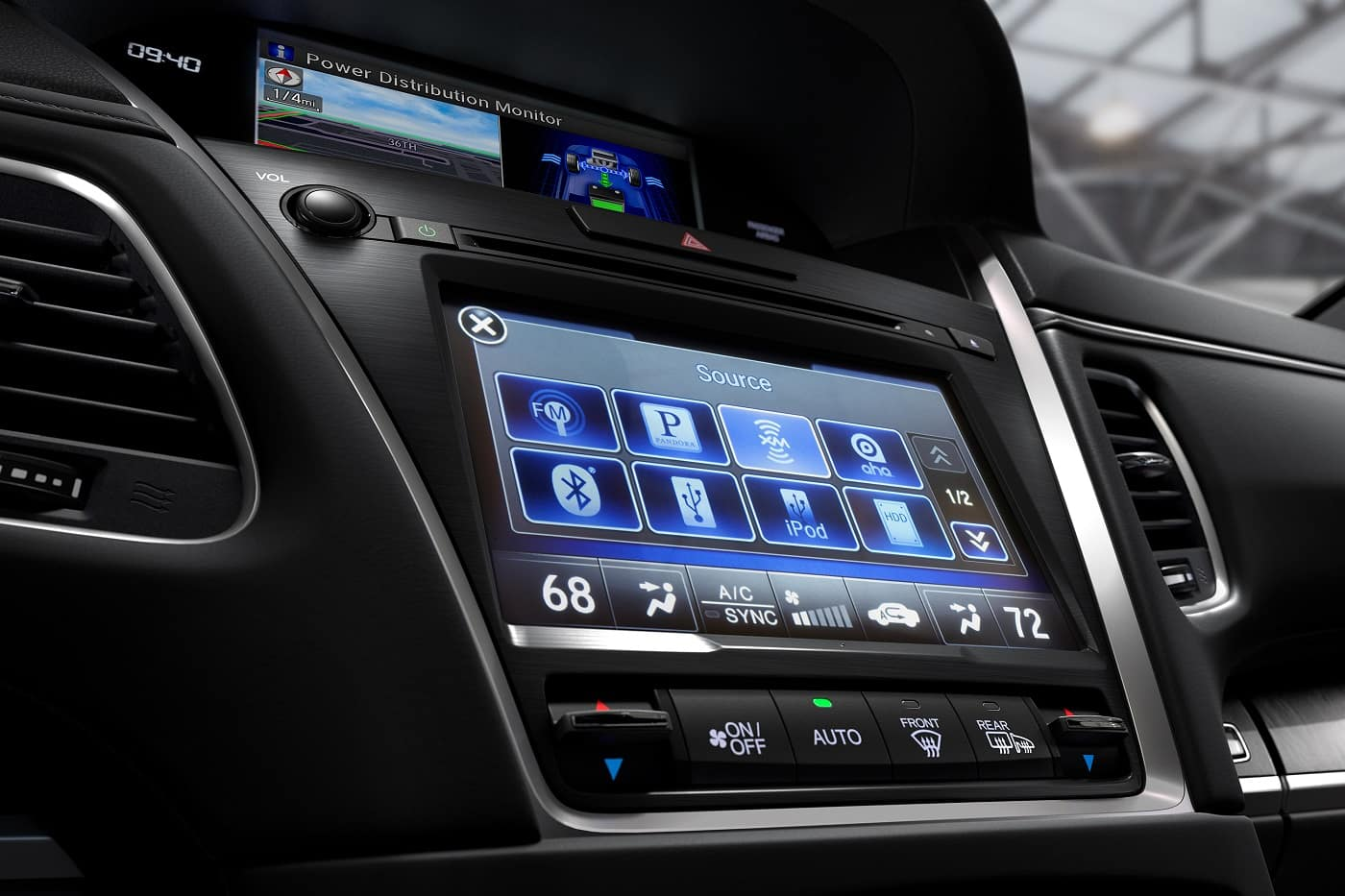 Acura RLX Infotainment
