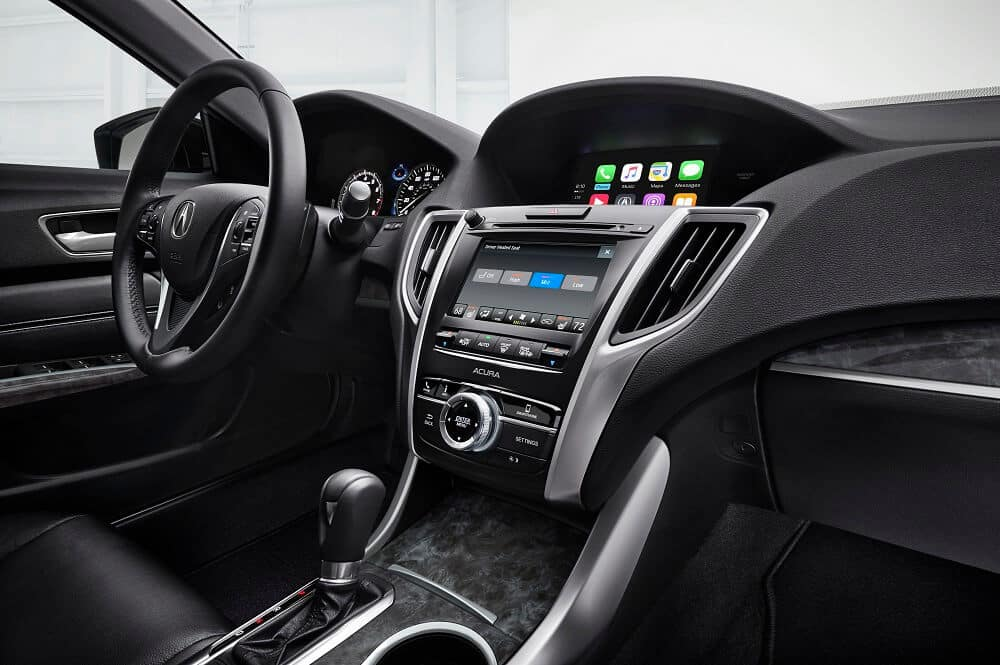 Acura TLX Interior Dashboard Technology
