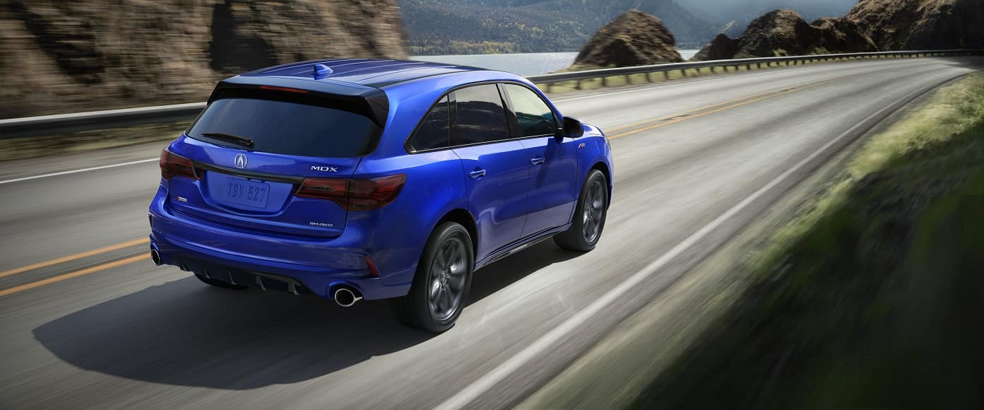 Acura MDX in Blue