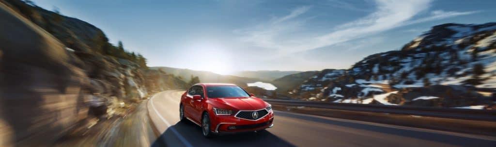 2019 Acura RLX Sport Hybrid in Brillant Red Metallic