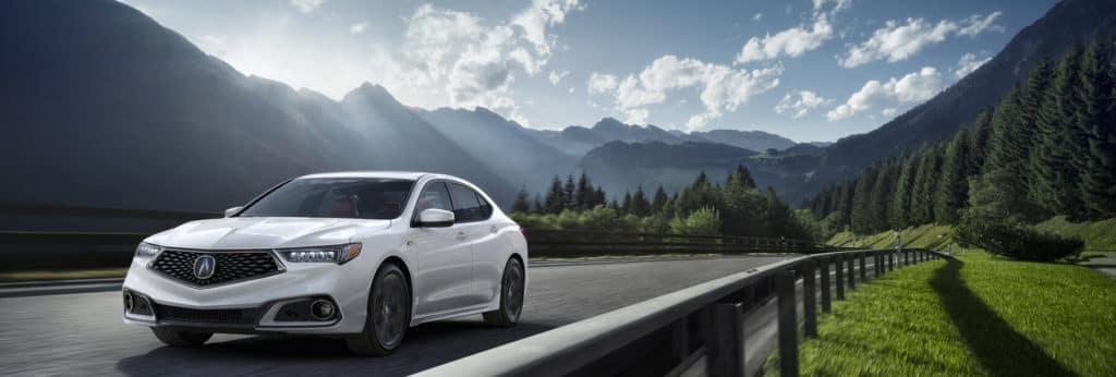 2020 Acura TLX A-SPEC in Platinum White Pearl