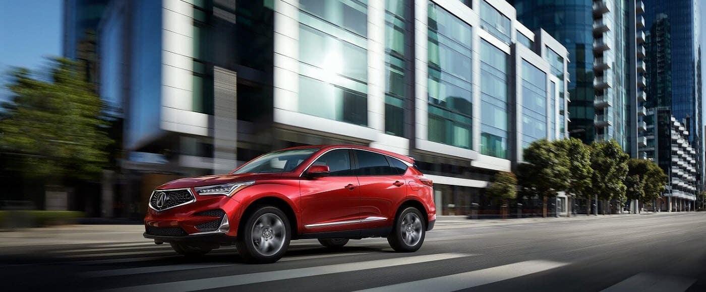 2020 Acura RDX Advance Performance City Driving