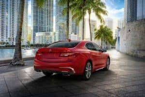 2020 Acura TLX Rear