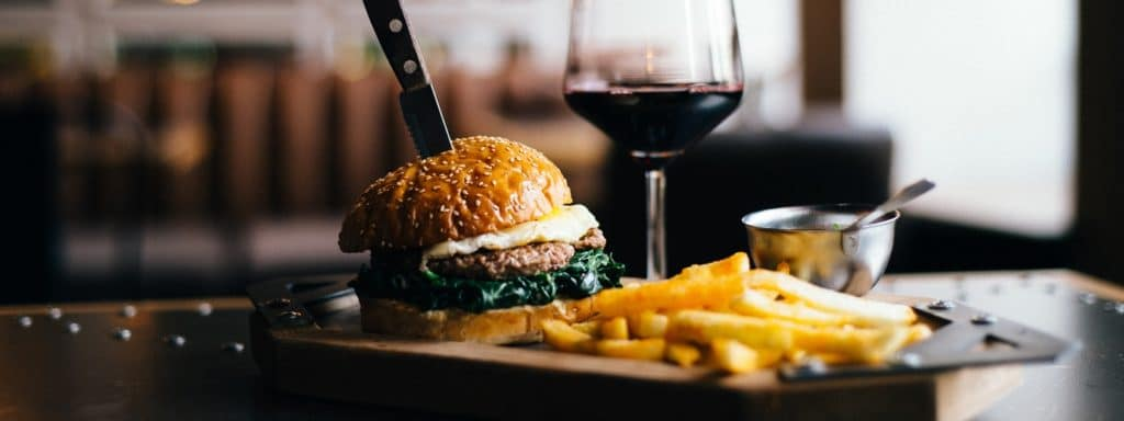 Burgers and Wine