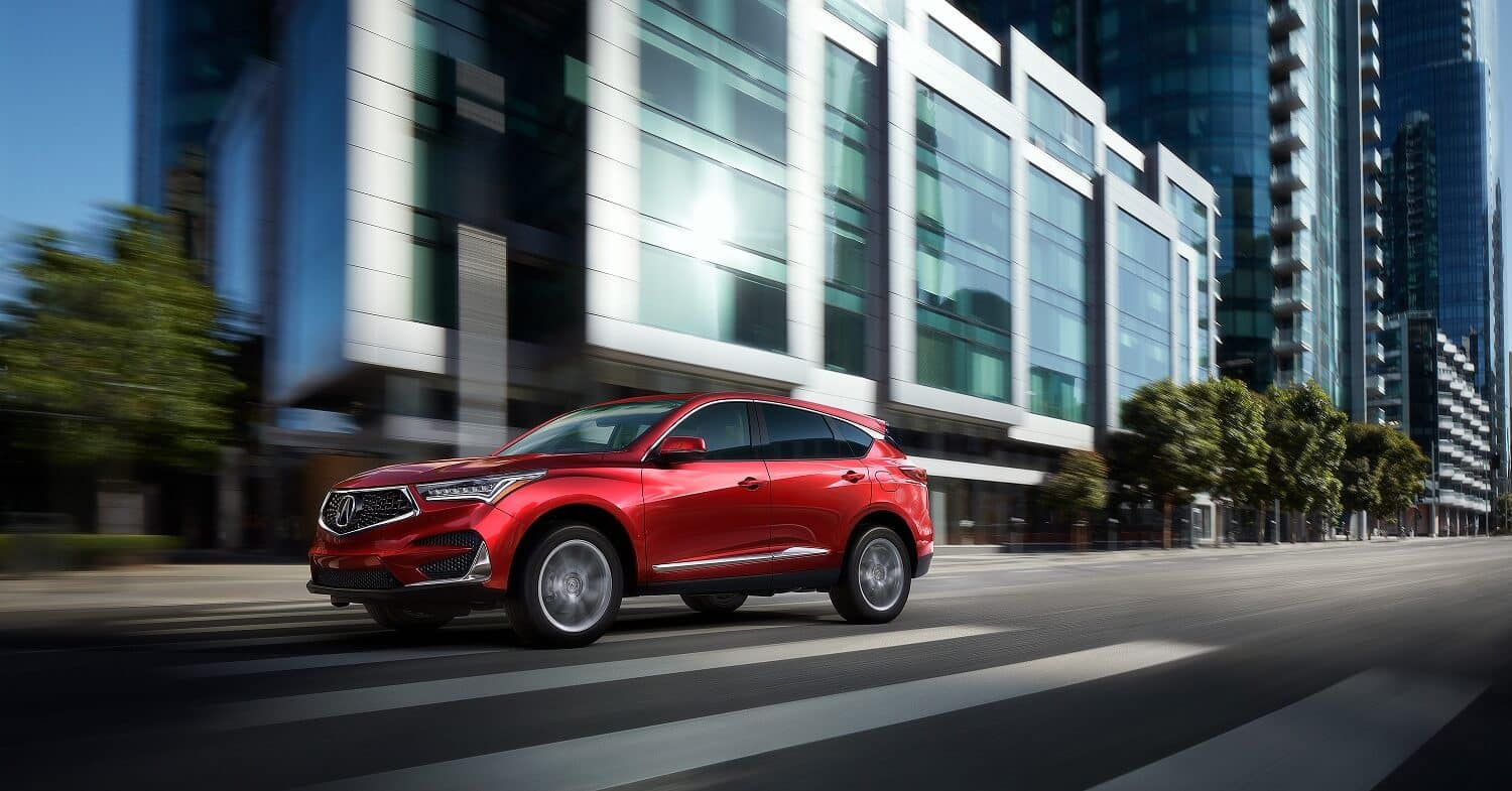2020 Acura RDX Base in Performance Red Pearl