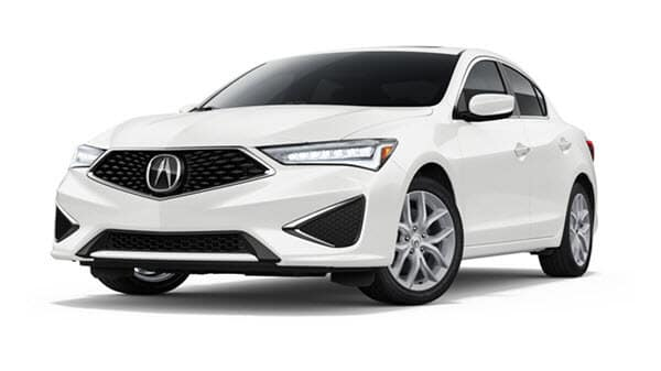 2021 Acura ILX Base in Platinum White Pearl