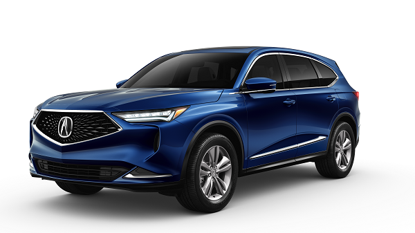 2022 Acura MDX Base in Fathom Blue Pearl