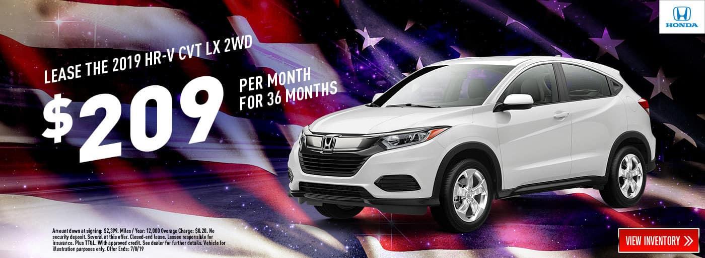 2019-Honda-HRV-CVT-LX-2WD