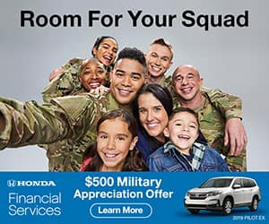 Fernandez Honda Military Appreciation Offer