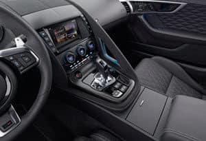 Jaguar F-TYPE Interior technology