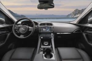 Inside The Cabin, The Front Seats Of The F PACE Deliver 37.8 Inches Of  Headroom And 57.7 Inches Of Shoulder Room. Legroom Measures 40.3 Inches.