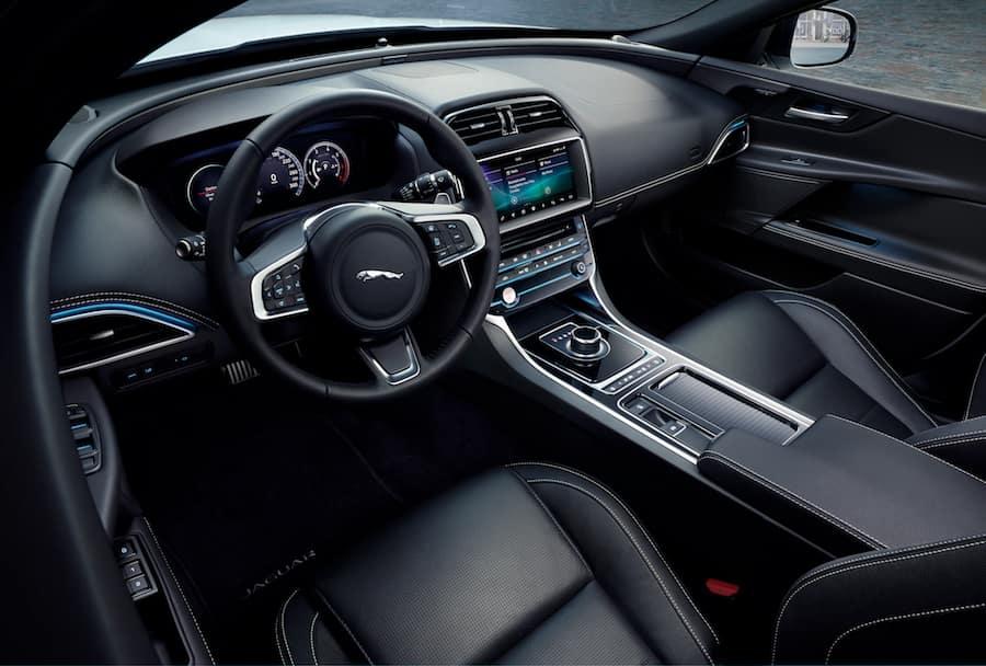 Jaguar Xe Interior Review Jaguar Albuquerque Nm