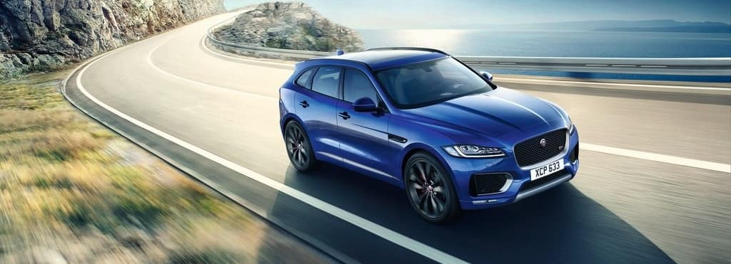 2018 Jaguar F-Pace Blue